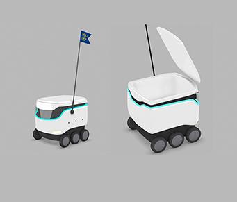 Robô delivery para hospitais