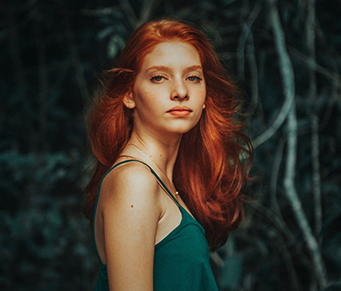 O segredo dos cabelos ruivos